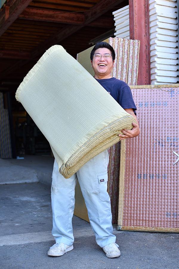 竹中畳製作所のいぐさ